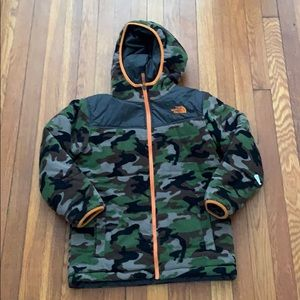 Kids reversible North face Jacket